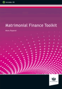 Matrimonial finance toolkit