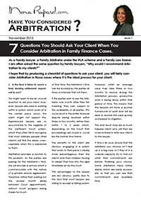 1311 Arbitration Information